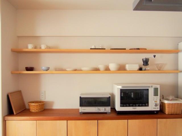 キッチンをスッキリ空間に!