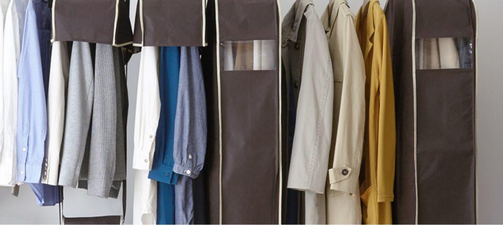 おすすめの衣類カバーでスッキリ収納しましょう
