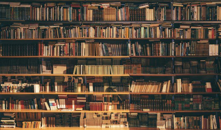 大量にある本。整理収納してスッキリな本棚に!